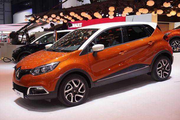 Renault Captur. שובה את הלב. פנאי זעיר מרנו. צילום: רנו