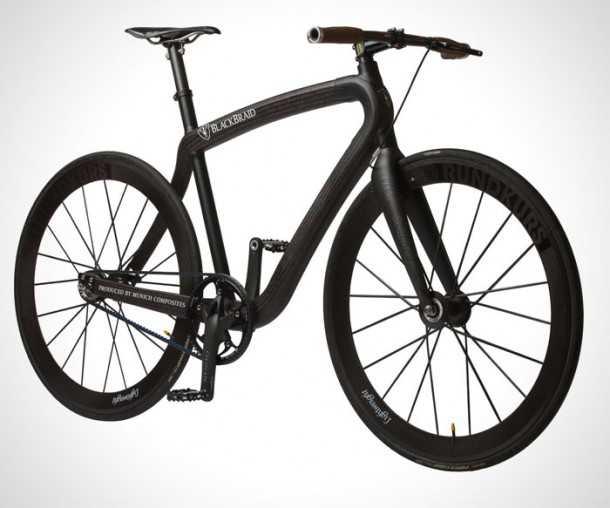 """שלדת הקרבון של Munich Composites יוצרת אופניים עירוניים מורכבים במשקל של 5 ק""""ג בלבד. צילום: Munich Composites"""