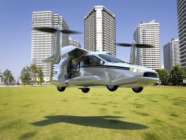 טראפוג'ה TF-X. ממריא ונוחת כמו מסוק, טס כמו מטוס ונוסע כמו מכונית