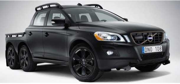 הכירו: וולבו XC60 עם שישה גלגלים