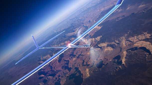 "Titan Solara. מל""ט חשמלי עם מקור כוח סולרי - ישייט ב-100 קמ""ש מעל למזג האוויר וישא כ-30 ק""ג ציוד קשר וביון - תחליף זול לשיגור לווין. צילום: TITAN"