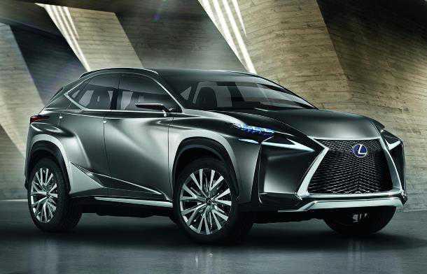 Lexus Crossover Concept. האם ה-LF-NX מבשר את המראה של ה-RX הבא? ואם הבנתם את המשפט הקודם כנראה שמגיע לכם לקסוס. צילום: IAA
