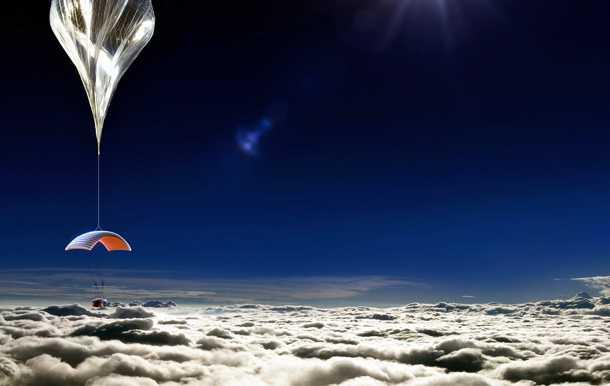 world view. טיסה לחלל בכדור פורח. נשמע כמו ספר של ג'ול וורן? לא בטוח. כרטיס החל מ-75 אלף דולרים.