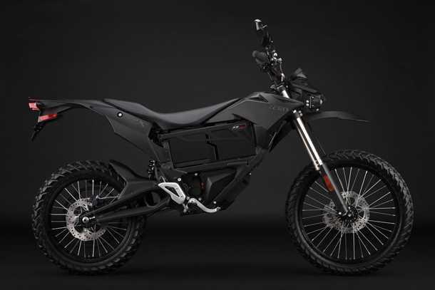השקה מקומית אופנועים חשמליים ZERO. גרסת FX שבצילום עם סוללה נשלפת - להחלפה מהירה בשטח. צילום: ZERO