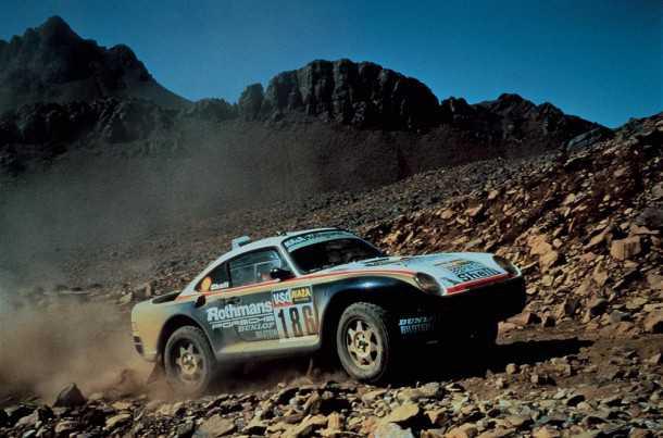 פורשה 959 בראלי דקאר - האם פורשה תחזור גם לפשיטות המדבר? צילום: פורשה