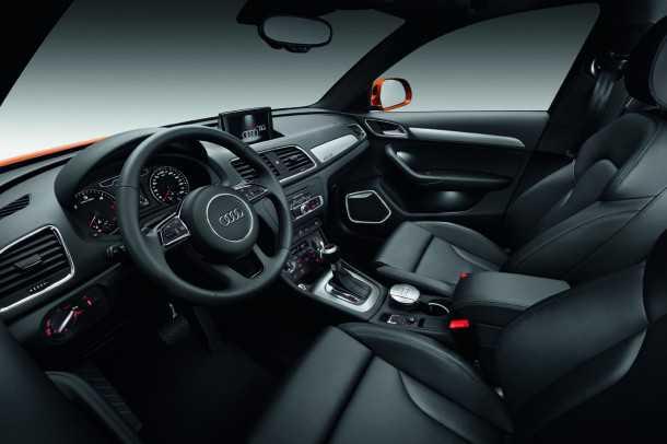 """אודי Q3 עם גרסת מנוע חדשה 1.4ל' עם 150 כ""""ס ותג מחיר של 209,000 שקלים בהשקה. עם הנעה קדמית בלבד כמובן. צילום אילוסטרציה: אודי"""