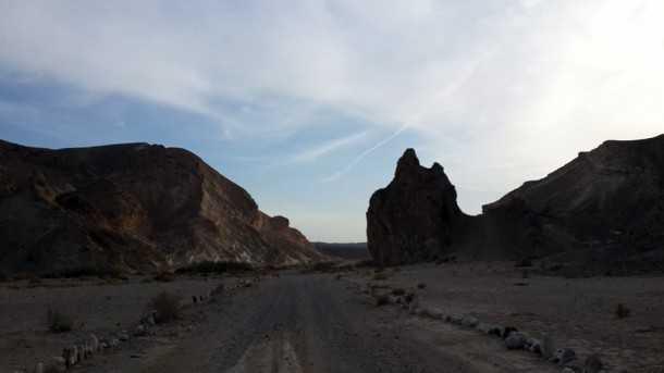 מסלול טיול שטח בחסות יונדאי - המפגש עם נחל פארן וסלע האריה השואג. צילום: רוית נאור