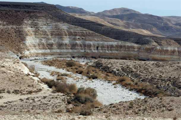 מסלול טיול שטח בחסות יונדאי - פינה אופיינית בדרך בהר הנגב. צילום: פז בר