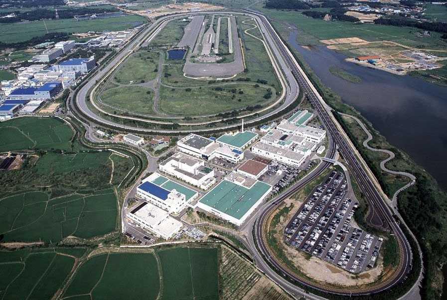 מרכז הניסויים של יונדאי. 7,000 כלי רכב ובובות ריסוק בשווי 30 מיליון דולרים. צילום: יונדאי
