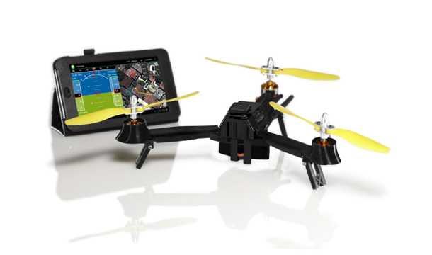 """מזל""""ט כיס. מתקפל לפאוץ' ונשלט מסמארטפון. 500 דולרים בלבד ואתם משדרגים את הצילומים שלכם למימד השלישי. צילום: airdroids"""