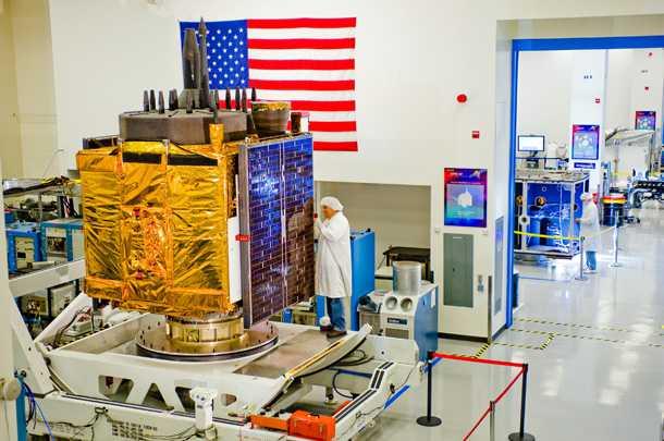 האם האמריקאים יכולים להשאיר את לוויני ה-GPS על הקרקע? פיתוח של משרד ההגנה הבריטי עשוי לייתר אותם תוך חמש שנים בלבד. צילום: BOEING