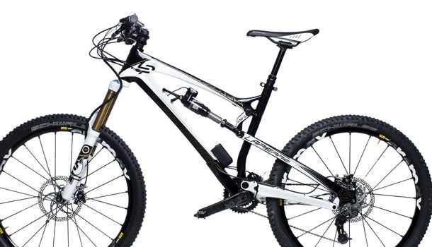 מתלה אקטיבי באופניים.  LAPIERRE עם מתלה אקטיבי. צילום: LAPIERRE