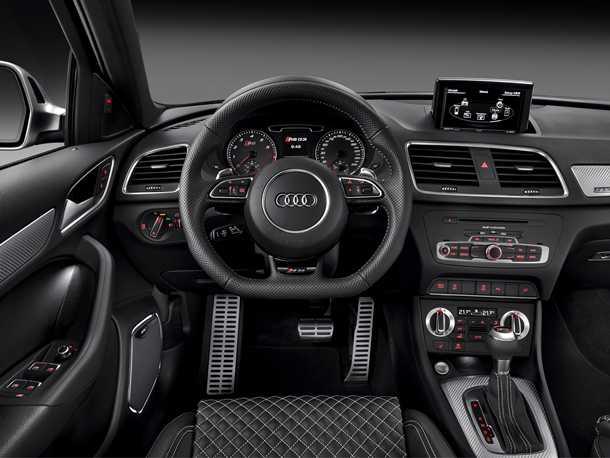 Audi RS Q3. תוכלו לבחור רק חבילת אחת - והיא מאד עשירה. צילום: AUDI