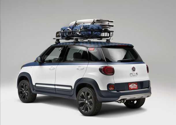 "קונספט פיאט 500L VANS. האם כך הייתה צריכה ה-500L להיראות מלכתחילה? 160 כ""ס גלגלים גדולים ומראה מזמין. צילום: FIAT"