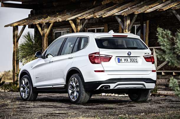 """ב.מ.וו X3 מעודכן. מנועים חזקים וחסכוניים יותר, חלל פנים יותר """"פרימיום"""". החל מ-317 אלפים. צילום: BMW"""