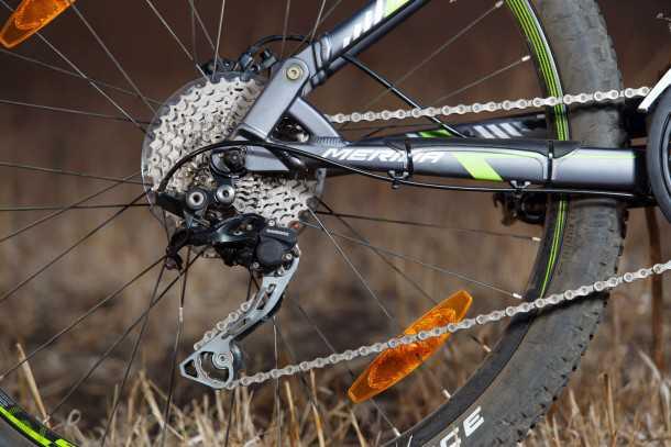 מבחן אופניים מרידה 120-400. 30 הילוכים ומעביר אחורי שימאנו עם מצמד - הפתעה מאד חיובית במבחן הזה. צילום: תומר פדר