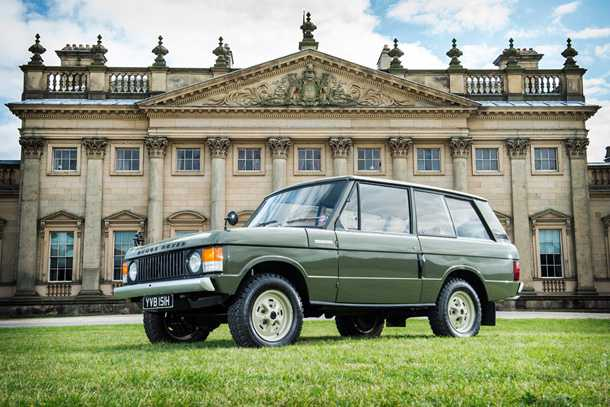 ריינג' רובר הראשון שיוצר יוצא למכירה פומבית - צפוי להכניס כ-250 אלפי דולרים. צילום: Silverstone Auctions