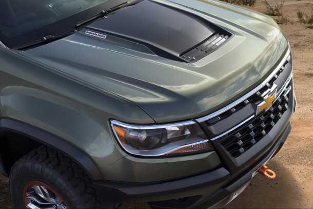 קונספט שברולט קולוראדו ZR2. מנוע דיזל ברכב תצוגה אמריקאי?! בחירה יוצאת דופן ומדליקה באותה מידה. צילום: שברולט