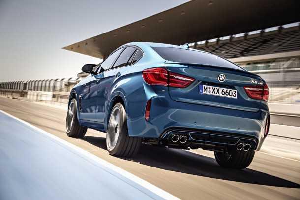 """ב.מ.וו חושפת גרסאות M של X5 ו-X6. קרוב ל-600 כ""""ס וכמעט 300 קמ""""ש. צילום: BMW"""