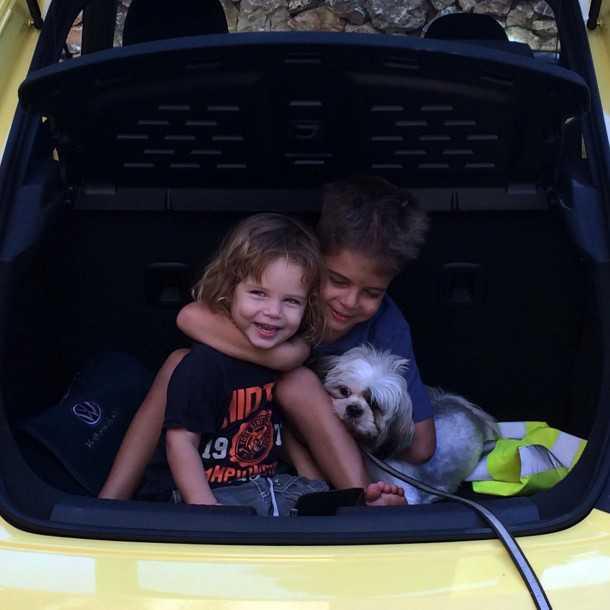 נהיגה עם פולקסווגן חיפושית חדשה - אביזרים בתוספת תשלום. או לחילופין השכרה על בסיס שעתי. הכלבה לא למכירה. צילום: צח פלדמן