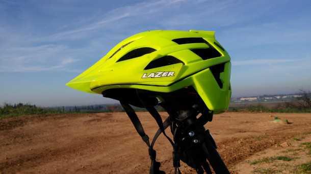 מבחן לקסדת אופני הרים LAZER OASIZ