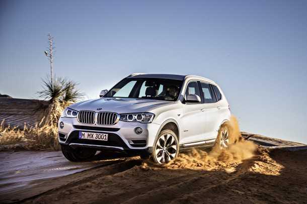 מבחן רכב ב.מ.וו X3 28i. הכי חזק ומאובזר בקו הגרסאות של הדגם. עם מראה מחודד יותר, איבזור משופר ודינמיות מרשימה. צילום: BMW