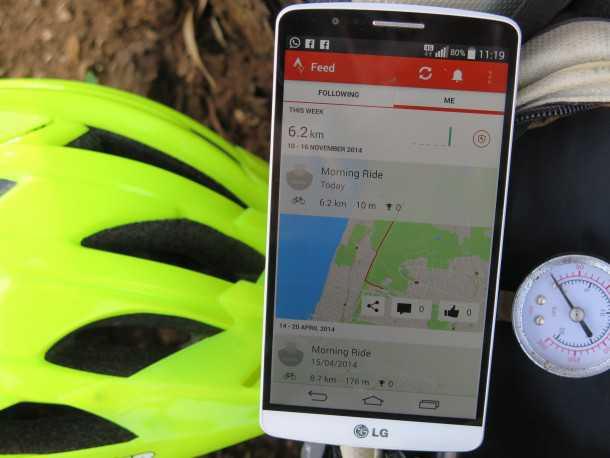 אפליקציות לרכיבת אופניים. להקליט, לעקוב, לשתף, לדרבן להתחרות ועוד הרבה יותר. אפליקציות הרכיבה ישנו את הסגנון שלך. צילום: רוני נאק