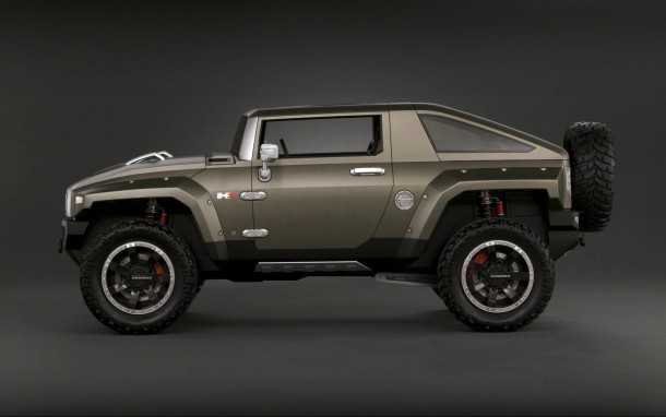 רכב התצוגה מ-2008 - האמר HX עשוי להיות ההשראה למתחרה של ג'יפ רנגלר. צילום: GM