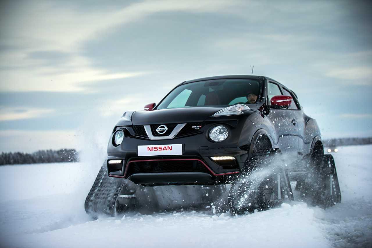 JUKE NISMO RSnow - מפלצת שלג וקרח על בסיס הג'יפון של חמותך. צילום: ניסאן