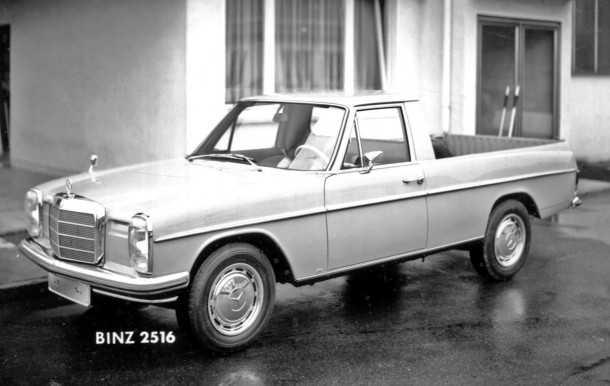 מרצדס 220 פיקאפ - שיוצר בארגנטינה בשנות ה-70'. מעניין...צילום: מרצדס