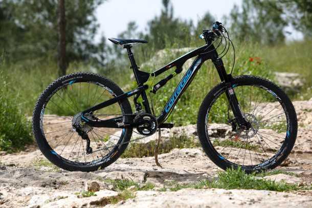 מבחן אופניים corratec 10Hz. מהונדס בגרמניה, מיוצר בטיוון, משווק בישראל. אופני AM עם טכנולוגית מתלה ייחודית שגם עובדת! צילום: תומר פדר