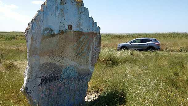 מבחן רכב ניסאן קשקאי החדש. יצאנו ליום עבודה במכרות הגופרית. צילום: רוני נאק