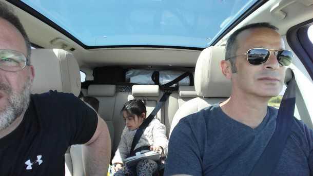 יצאנו לערבה עם לנד רובר דיסקברי ספורט. היה כיף! אני חושב...צילום: רוני נאק