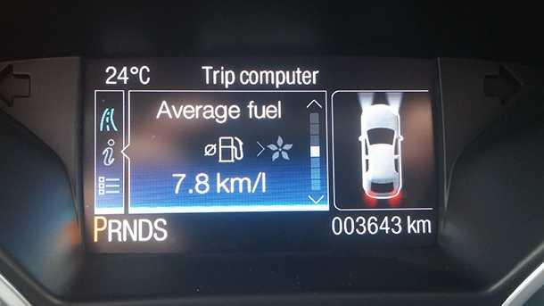 מבחן רכב פורד קוגה. עקב אכילס - צריכת דלק ממוצעת גבוהה. צילום: רוני נאק