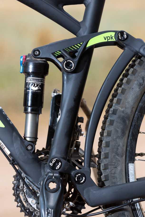 מבחן אופניים מרידה one-fourty 7.600. מתלה VPK נהדר, קראנק חלול ומשולש אחורי שעדיין קצת כבד וארוך מדי. צילום: תומר פדר