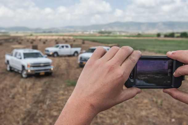 מבחן משווה: שברולט סילבראדו מול דודג' ראם מול פורד F350. צילום: נועם עופרן