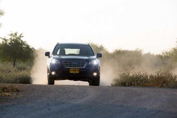 מבחן רכב סובארו אאוטבק. יכולת דינאמית מעולה, מרווח גחון שימושי ורמת אחיזה גבוהה שיוצרת בטיחות אקטיבית יוצאת דופן.צילום: תומר פדר