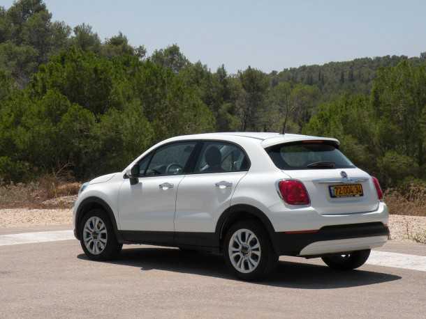 מבחן רכב פיאט 500X. איטלקיה לוהטת בהרי ירושלים. צילום: ניר בן זקן