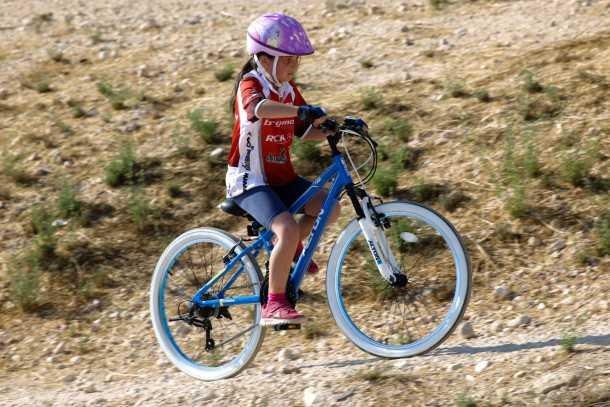 אופניים מקצועיים לילדים. ויש גם לבנות - כמובן! צילום: תומר פדר