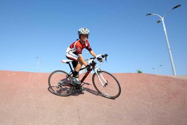 אופניים מקצועיים לילדים. רידלי רייס קידס צילום: תומר פדר