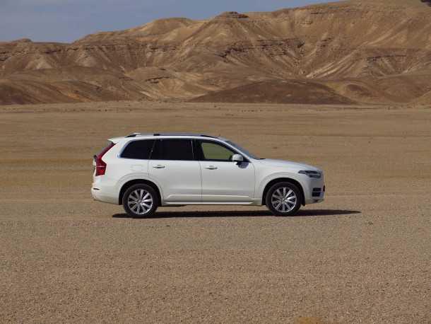 מבחן רכב וולוו XC90 דיזל. רכב משפחתי עם טוויסט של איכות ויכולת. צילום: רוני נאק