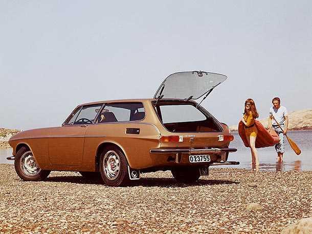 וזה צילום של וולוו 1800ES משנת 1971. היא לא תגיע לכנס אבל טוב להיזכר. צילום: וולוו