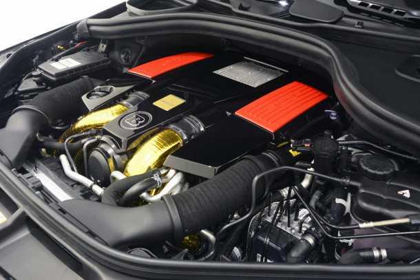 """כזה מנוע בדיוק! המנוע של מרצדס GLE קיבל צמד מגדשי טורבו חדשים, מפות ניהול אגרסיביות והתוצר עומד על 700 כ""""ס ו-98 קג""""מ. צילום: בראבוס"""