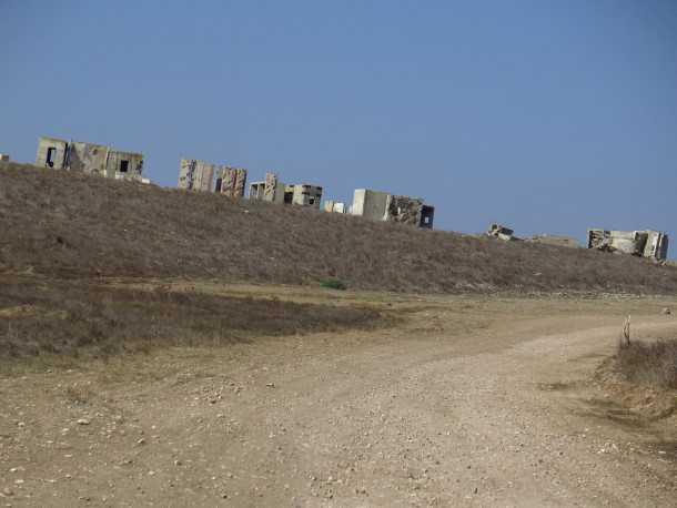 טיול שטח משדה משדה לאמציה דרך משלט מאחז צילום: רוני נאק