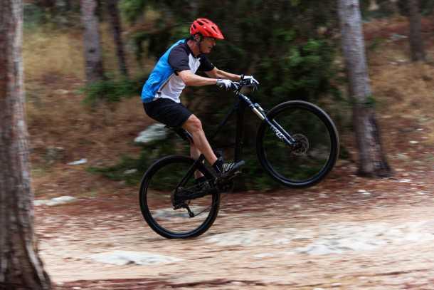 מבחן אופניים ברגמונט קונטרייל 8.0. ככל שתהיו מהירים יותר האופניים האלו יתגמלו אתכם יותר - מוד התקפה ואתם מסודרים. צילום: תומר פדר