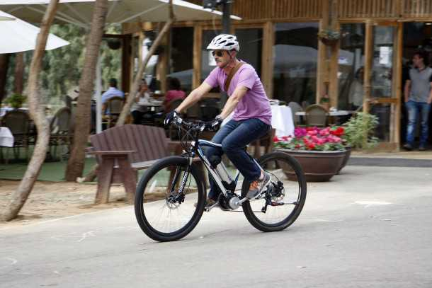 מבחן אופניים קונינג הוגו 29. אופניים חשמליים לשטח יאפשרו לכם לרכב יותר והרבה יותר בקלות בשבילים. צילום: פז בר