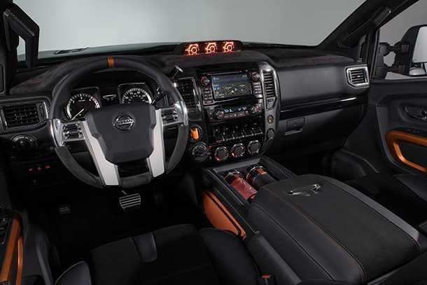 """רכב תצוגה טנדר ניסאן טיטאן WORRIOR עם דיזל מפלצתי, יותר מ-300 כ""""ס ועיצוב כוחני. צילום: ניסאן"""