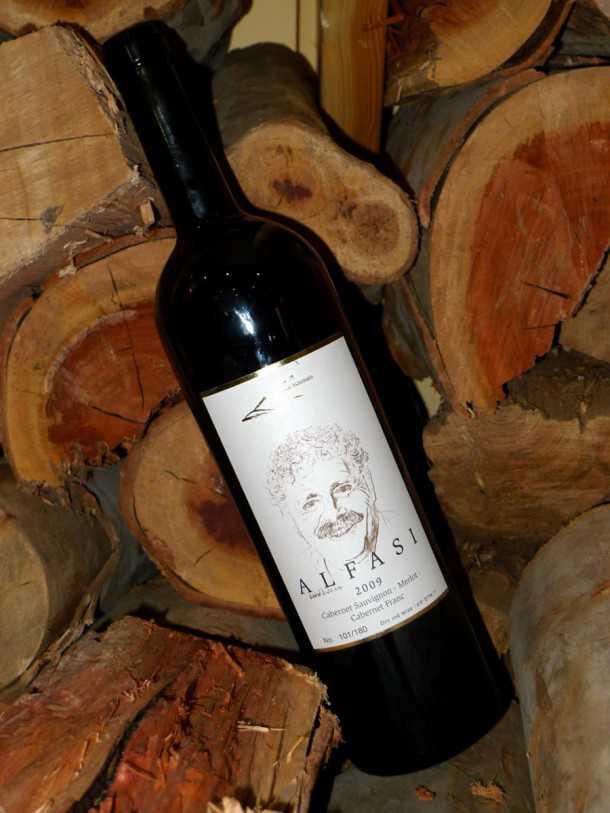 שלג בצפון ואסור לפספס את היין המשובח של משפחת אלפסי ביקב הר אודם. צילום: פז בר