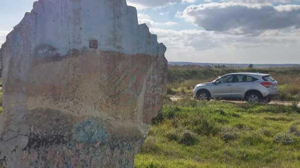 מבחן רכב הונדה HRV. נוח בעיר ובכפר - חסכוני בדרך לשטח, מנוע חסכן ולא דינאמי. צילום: רוני נאק
