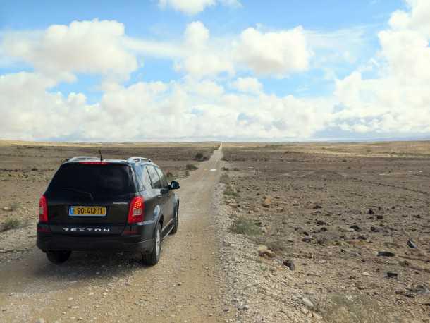 הקליקו על הצילום למבחן הרכב של סאנגיונג רקסטון הנוכחי. צילום: רוני נאק